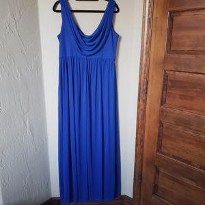 David's Bridal Size 18 Cobalt Blue Semi formal